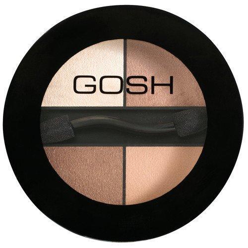 GOSH Copenhagen Quattro Eyeshadow Q24 Platinum