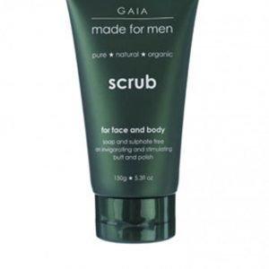 Gaia Face/Body Scrub 150 ml Valkoinen
