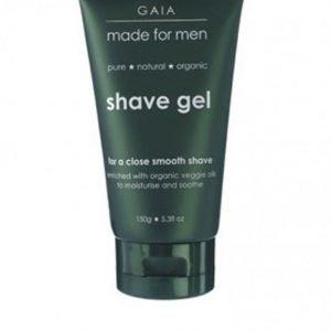 Gaia Shave Gel 150 ml Valkoinen