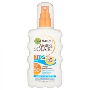Garnier Ambre Solaire Dry Mist Sun Cream Spray Spf 30 200 Ml