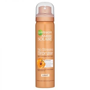 Garnier Ambre Solaire No Streaks Bronzer Face Mist Light 75 Ml
