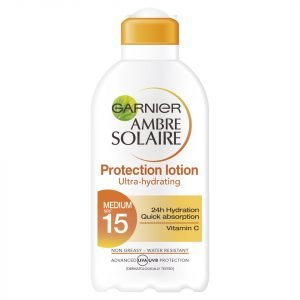 Garnier Ambre Solaire Ultra-Hydrating Sun Cream Spf 15 200 Ml