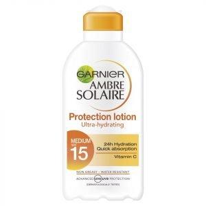 Garnier Ambre Solaire Ultra-Hydrating Sun Cream Spf 15 200 Ml