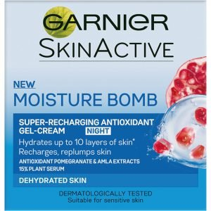 Garnier Moisture Bomb Super-Recharging Night Gel-Cream 50 Ml