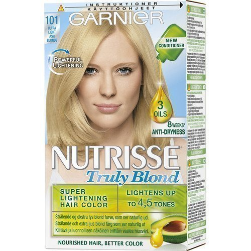 Garnier Nutrisse 101 Ultra Light Ash Blonde