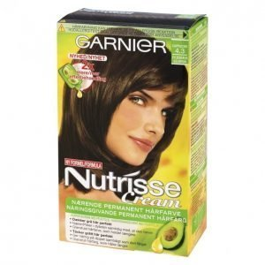 Garnier Nutrisse 4.3 Tumma Kullanruskea Kestoväri