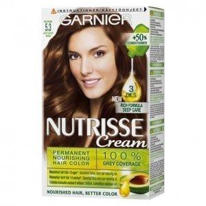 Garnier Nutrisse 5.3 Kullanruskea Kestoväri