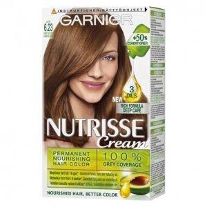 Garnier Nutrisse 6.23 Latte Kestoväri