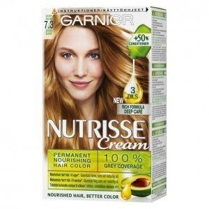 Garnier Nutrisse 7.3 Tummanvaalea Kulta Kestoväri