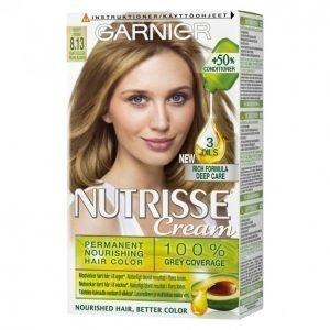 Garnier Nutrisse 8.1 Ash Blonde Kestoväri