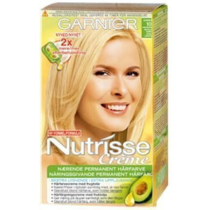 Garnier Nutrisse Cream 10 Camomille Extra Light Blonde
