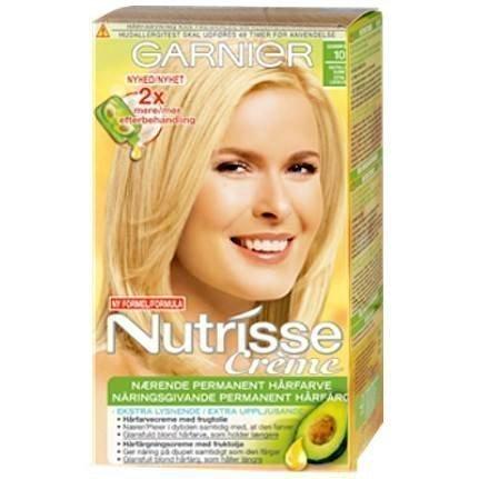 Garnier Nutrisse Cream 10 Camomille Extra Light Blonde