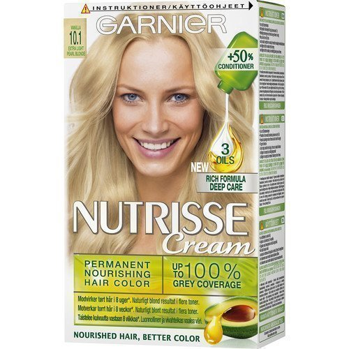 Garnier Nutrisse Cream 10.1 Extra Light Pearl Blonde
