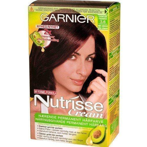 Garnier Nutrisse Cream 3.6 Crimson Promise Red Dark Brown