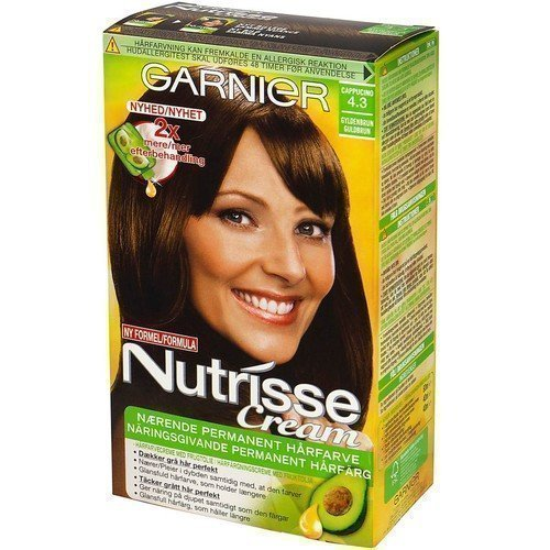 Garnier Nutrisse Cream 4.3 Cappucino Golden Brown
