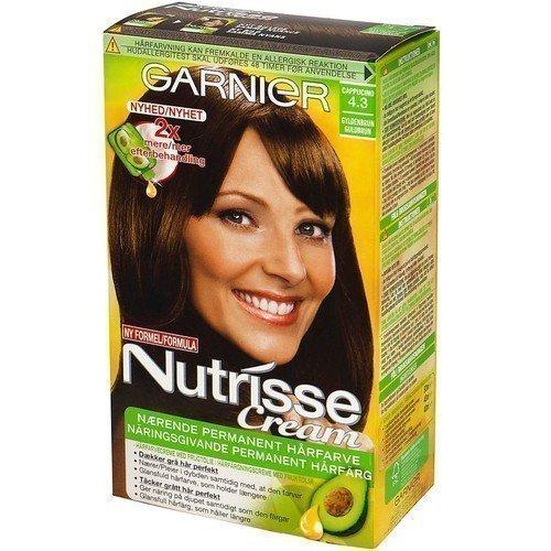 Garnier Nutrisse Cream 4.3 Cappucino Golden Brown