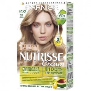 Garnier Nutrisse Cream 9. 132 Nude Light Blonde Kestoväri