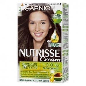Garnier Nutrisse Creme 4.0 Dark Brown Kestoväri