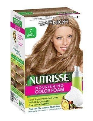 Garnier Nutrisse Nourishing Hair Colour 7 Dark Blonde Hiusväri