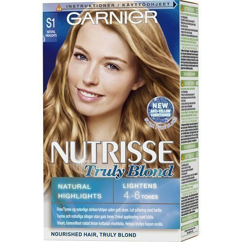 Garnier Nutrisse Truly Blond S1 Natural Highlights