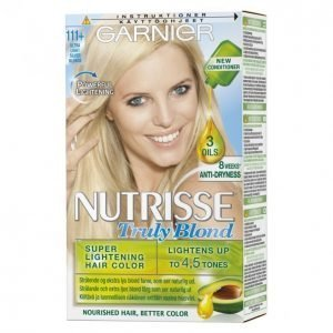 Garnier Nutrisse Truly Blonde 111 + Kestoväri