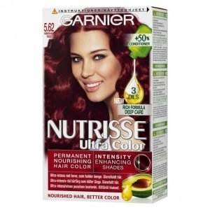 Garnier Nutrisse Ultra Color 5.62 Vibrant Red Kestoväri