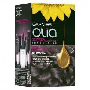 Garnier Olia 1.0 Deep Black Kestoväri