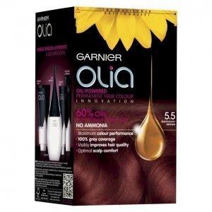 Garnier Olia 5.5 Mahogany Brown Kestoväri