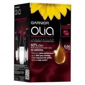 Garnier Olia 6.66 Extra Deep Red Kestoväri