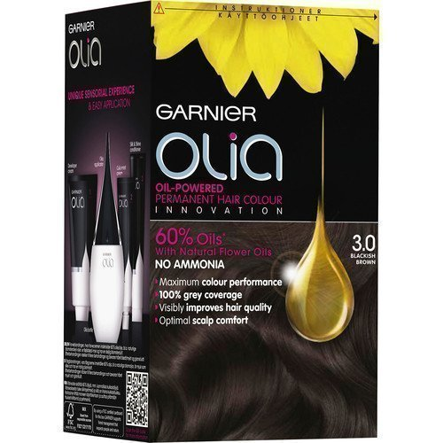 Garnier Olia Permanent Hair Colour 3.0 Blackish Brown