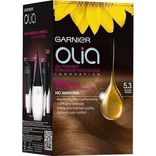 Garnier Olia Permanent Hair Colour 5.3 Golden Brown