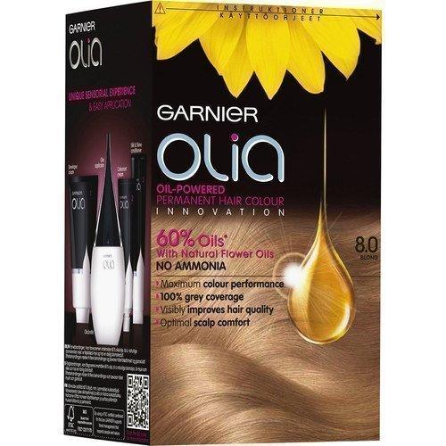 Garnier Olia Permanent Hair Colour 8.0 Blond