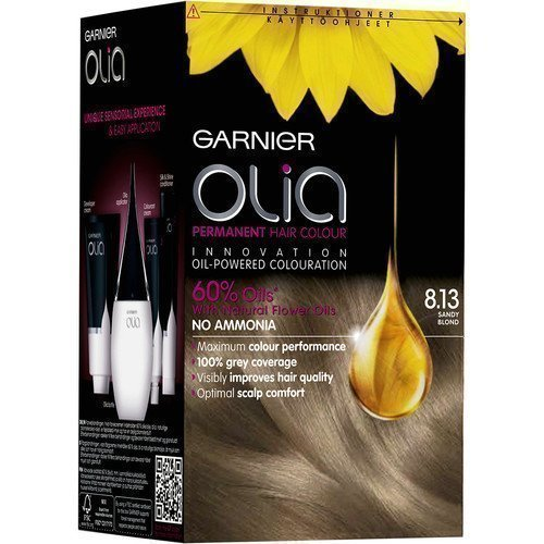 Garnier Olia Permanent Hair Colour 8.13 Sandy Blond