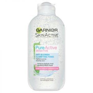 Garnier Pure Active Sensitive Anti-Blemish Clarifying Toner 200 Ml