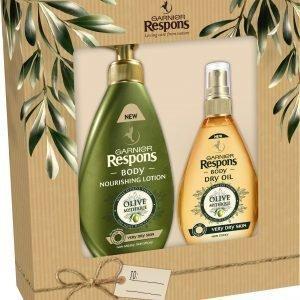 Garnier Respons Body Mythic Olive Lahjapakkaus 2016