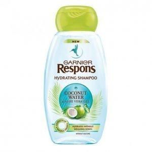 Garnier Respons Coconut Water & Aloe Vera Gel Kosteuttava Shampoo 250 Ml