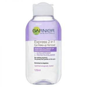 Garnier Skin Naturals 2-In-1 Eye Make-Up Remover 125 Ml