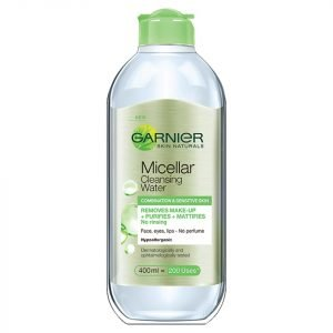 Garnier Skin Naturals Micellar Cleansing Water Combination And Sensitive Skin 400 Ml