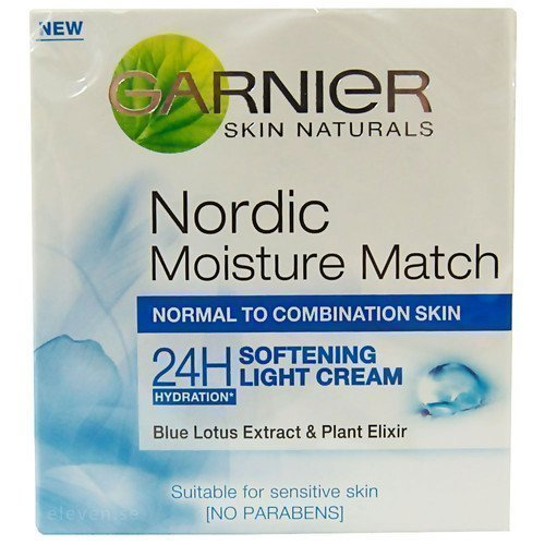 Garnier Skin Naturals Nordic Moisture Match 24H Light Cream