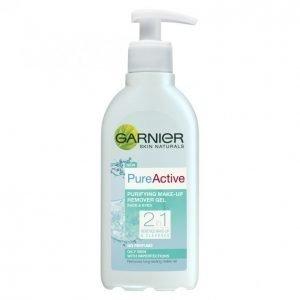 Garnier Skin Naturals Pure Active 2in1 Puhdistusgeeli + Meikinpoisto