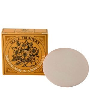 Geo. F. Trumper Almond Oil Hard Shaving Soap Refill 80 G