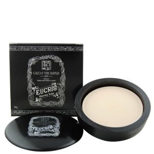 Geo. F. Trumper Eucris Hard Shaving Soap In Wooden Bowl 80 G