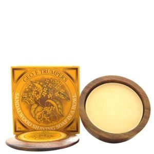 Geo. F. Trumper Sandalwood Hard Shaving Soap Refill 80 G