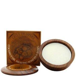 Geo. F. Trumper Wooden Shave Bowl Coconut 80 G