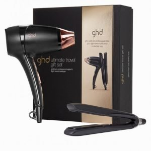 Ghd Ultimate Travel Set Suoristusrauta Musta