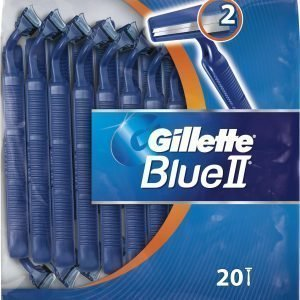 Gillette Blue Ii Dis Fixed Cap Varsiterät 20 Kpl