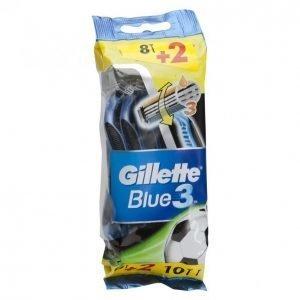 Gillette Blue3 Varsiterä 8 + 2kpl