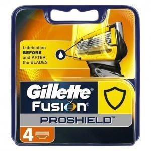 Gillette Fusion Proshield Manual Vaihtoterät 4 Kpl