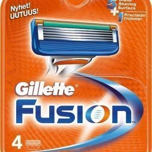 Gillette Fusion Terät 4 Kpl