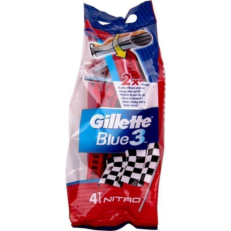 Gillette Gillette Blue 3 4 Razors